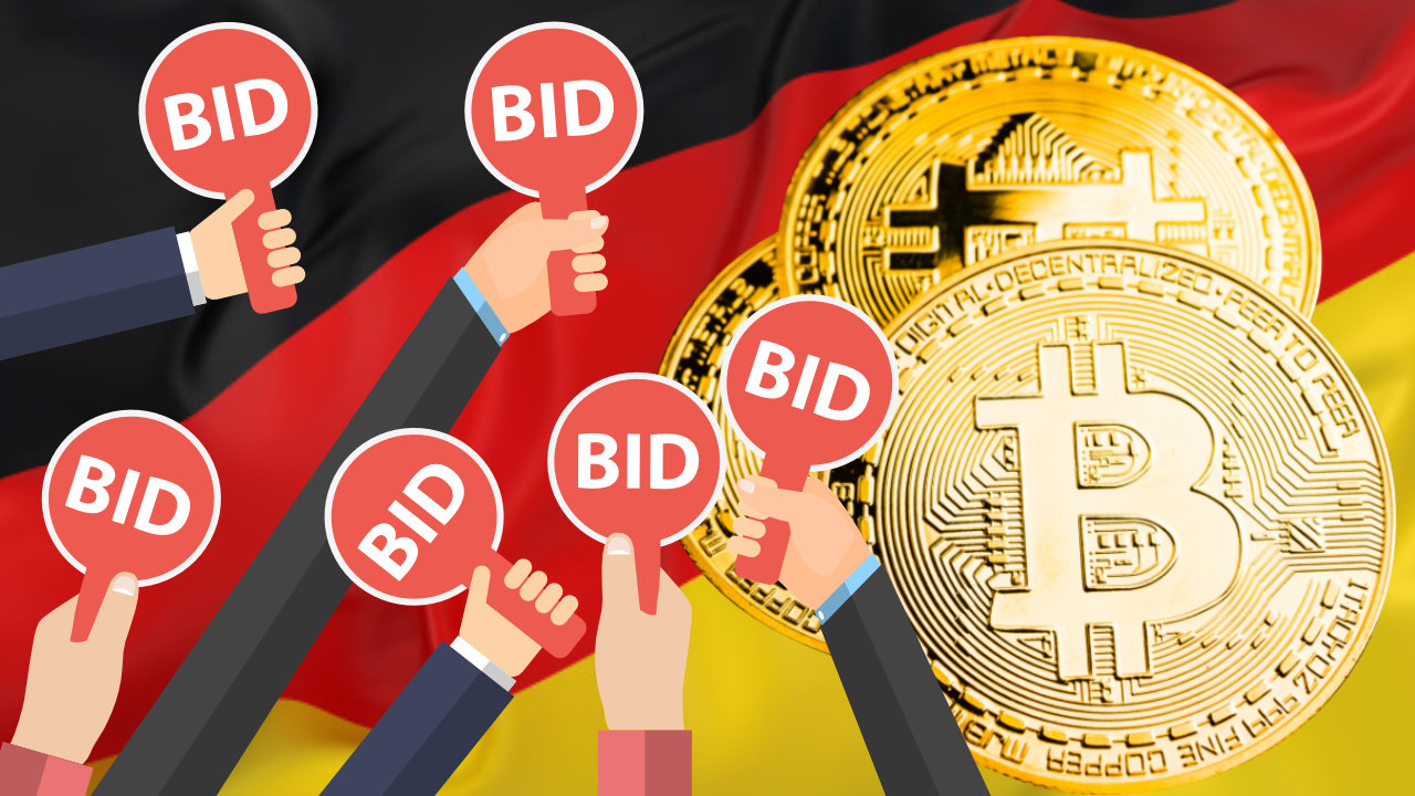 Germany Auctions Bitcoin Seized From Darknet: Bargain Hunters Flock to Buy Cheap BTC